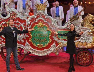 Circus Krone präsentiert sein 3. Jubiläumsprogramm zu seinem 100jährigen Jubiläum
