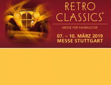 RETRO CLASSICS® STUTTGART: Von München erfolgreich in die Welt