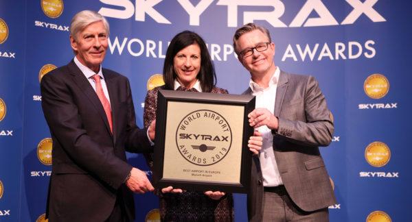 """Erneut großer Erfolg bei den """"World Airport Awards"""": Passagiere küren Münchner Flughafen zum besten Airport Europas"""