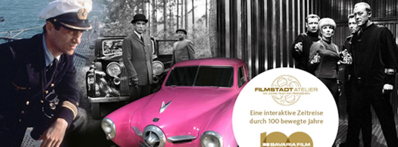 MPE-Visit im FILMSTADT ATELIER – Eine interaktive Zeitreise durch 100 bewegte Jahre