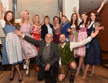 """Ladies Dinner zum Weltfrauentag von Trachten Angermaier bei """"Irmi"""" in München"""