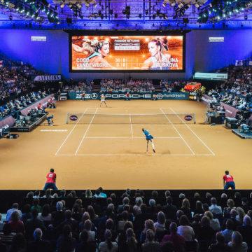 Porsche Tennis Grand Prix: Spitzensport und beste Unterhaltung