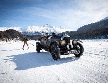 Badrutt´s Palace präsentiert: Oldtimer und Rennwagen beim I.C.E. in St. Moritz