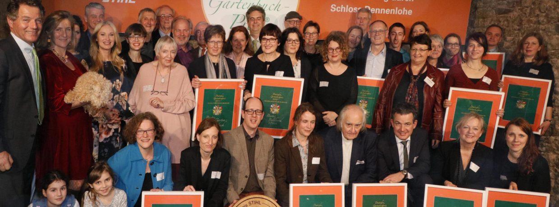Deutscher und Europäischer Gartenbuchpreis 2019 vergeben