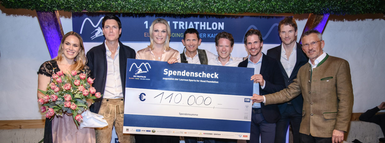 Ski Triathlon in Ellmau zugunsten Laureus Sport for Good