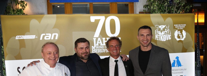 Champions-Dinner zu 70 Jahre Profiboxen in Deutschland