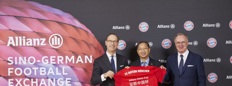 FC Bayern gastiert am 29. Mai 2019 beim Allianz China Cup in Peking