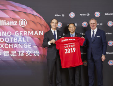 FC Bayern gastiert am 29. Mai 2019 beim Allianz China Cup in Peking