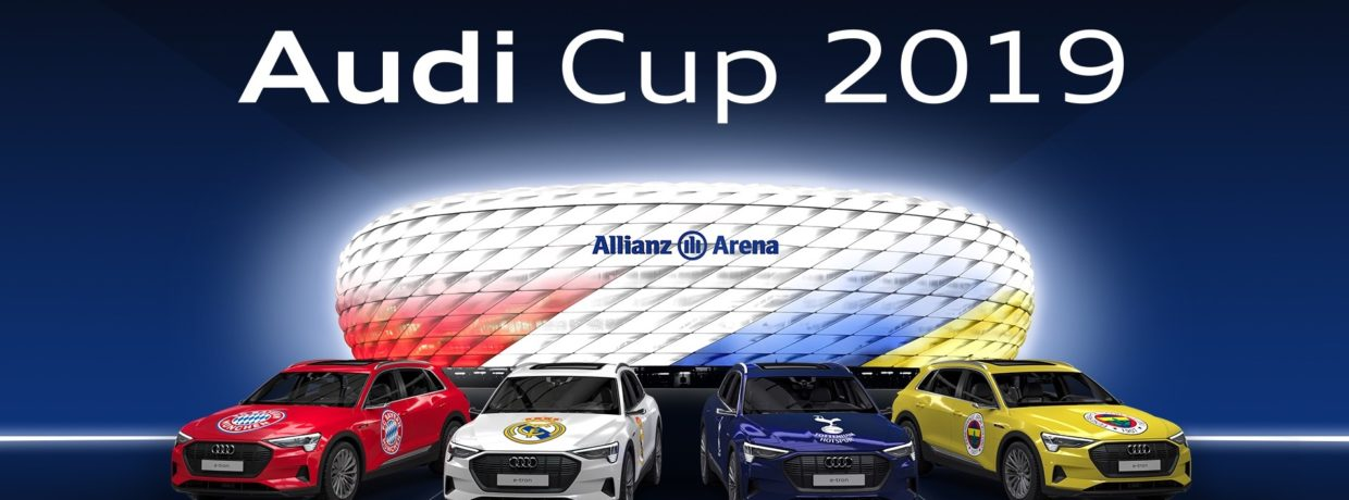 Internationale Spitzenklubs spielen um Audi Cup