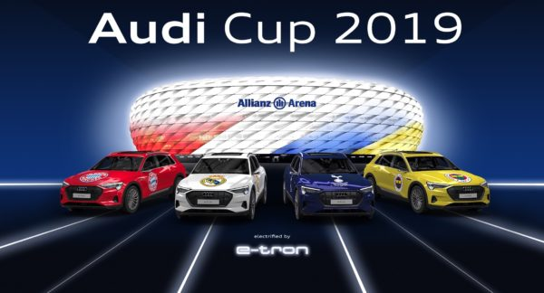 Internationale Spitzenklubs spielen um Audi Cup