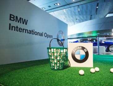 Die Golftage in der BMW Welt