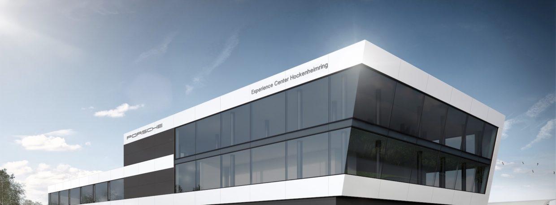 Porsche Experience Center am Hockenheimring feiert Richtfest