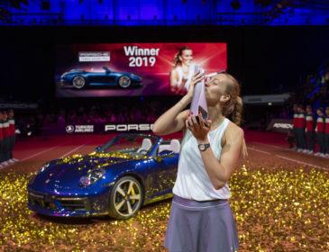 Petra Kvitova ist die neue Tennis-Königin von Stuttgart beim 42. Porsche Tennis Grand Prix