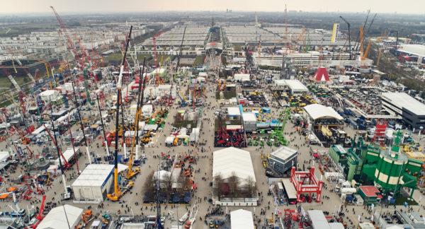 Rekord: 32. Weltleitmesse bauma zieht über 620.000 Besucher an