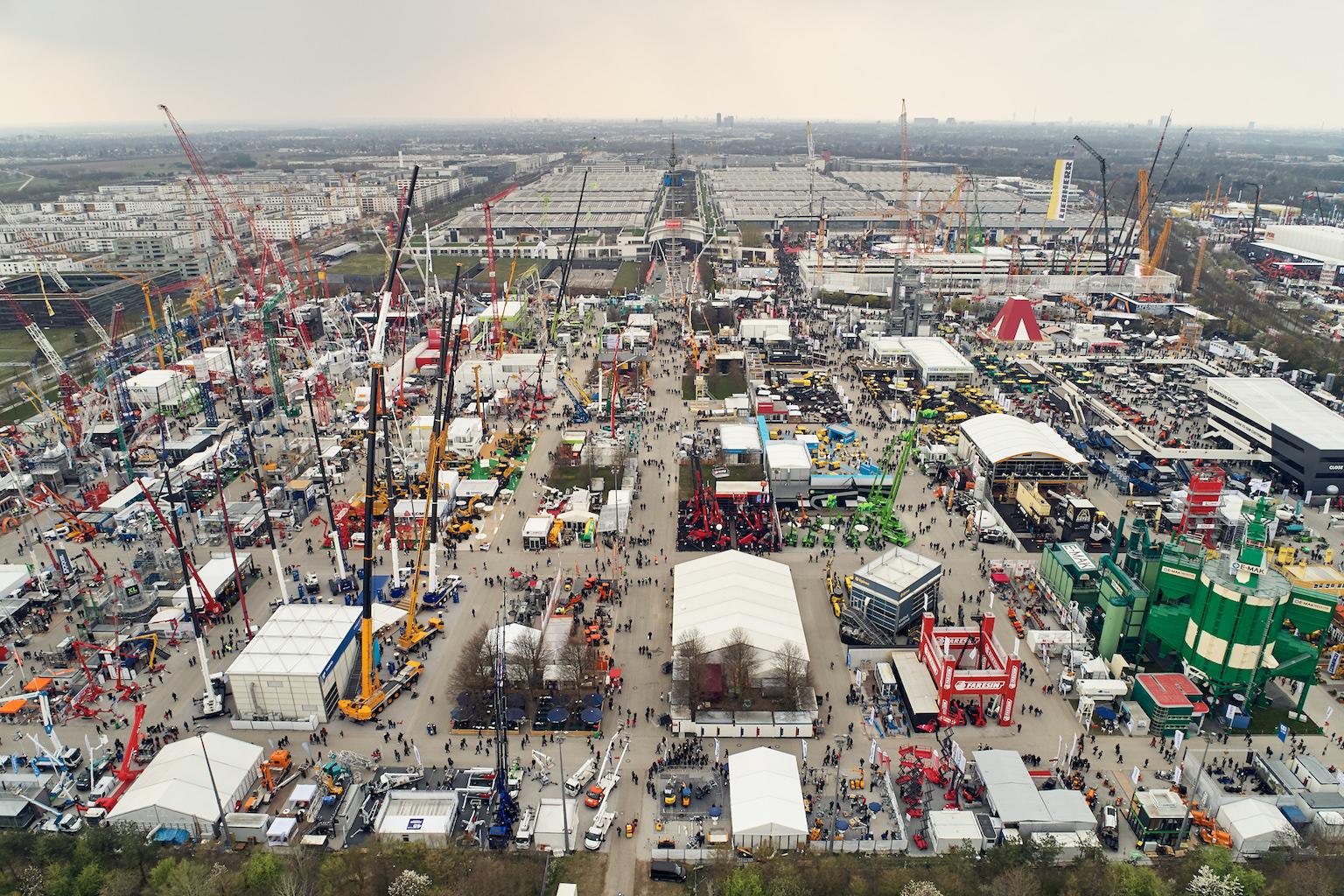 e3449cab8efd03 Rekord  Weltleitmesse bauma zieht über 620.000 Besucher in München an