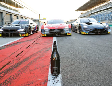 Moderner Klassiker: Champagne Carbon ist neuer Partner der DTM