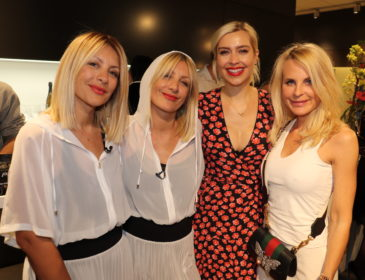 Promi-Ladies feiern After Work-Party und neues Beauty-Konzept im Haarwerk