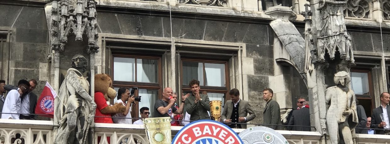 Das war die Meisterfeier/Doublefeier 2019 des FC Bayern München
