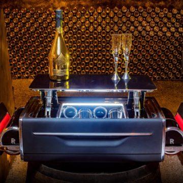 Die Champagner-Truhe von Rolls-Royce
