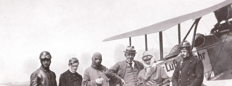 Vor 100 Jahren gingen die ersten Münchner in die Luft