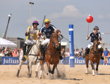 Stürmischer Applaus beim 12. Julius Bär Beach Polo World Cup Sylt