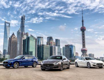 Maserati feiert Doppeljubiläum mit außergewöhnlicher Gran Tour durch China