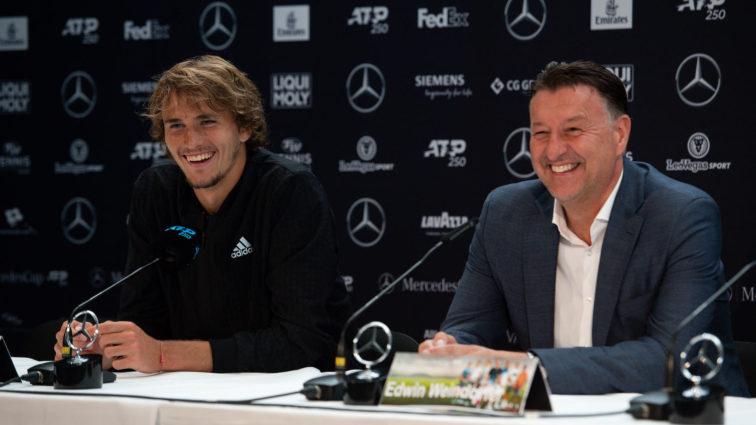 Alexander Zverev startet voll motiviert in den MercedesCup