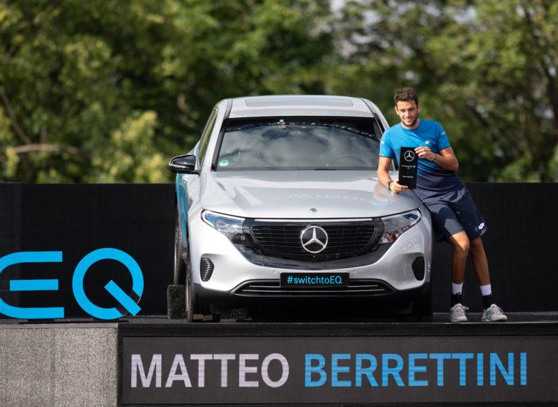 Matteo Berrettini triumphiert beim MercedesCup 2019