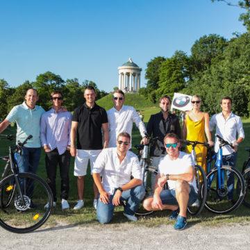 """BMW International Open 2019: """"Ja, wir san mit'm Radl da"""""""