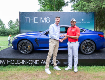 BMW International Open 2019: Bhullar gewinnt mit einem Ass das BMW M8 Competition Coupé