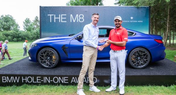 BMW International Open 2019: Bhullar gewinnt mit einem Ass das BMW M8 Competition Coupé