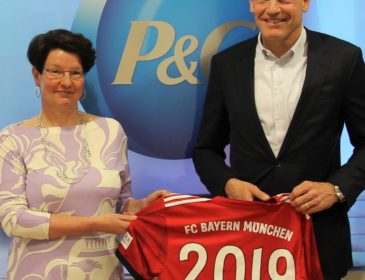FC Bayern und Procter & Gamble setzen Zusammenarbeit fort