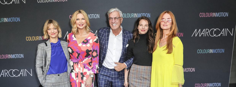 Eröffnung Fashion Week Berlin: Star-Glamour bei Marc Cain Show