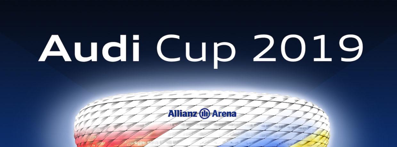 FC Bayern München und Tottenham im Finale des Audi Cup