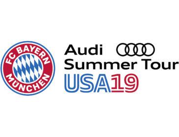 Audi geht mit dem FC Bayern München auf Summer Tour