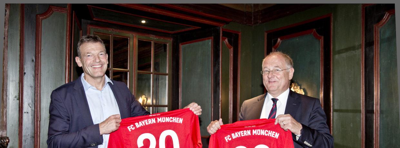 FC Bayern München AG und Gigaset AG bleiben Partner
