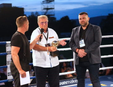 Petkos Fight Night in der BRITA Arena in Wiesbaden