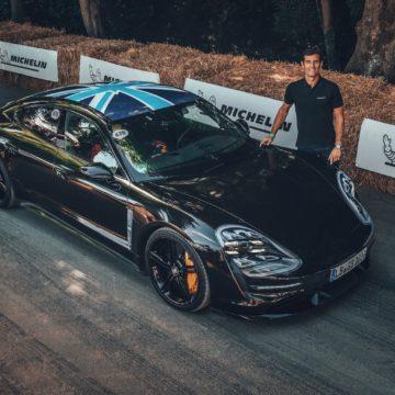 Porsche Taycan zu Gast beim Goodwood Festival of Speed