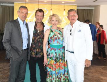 7PINES IBIZA feiert Opening der Pershing Yacht Terrace