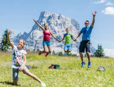 """Don't worry be hikey"" in der DOLOMITI HIKE GALAXY"
