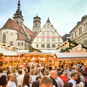 43. Stuttgarter Weindorf 2019 vom 28. August bis 08. September 2019
