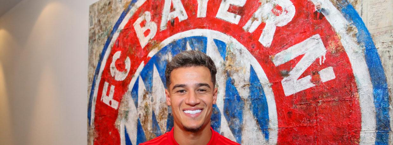 Vertrag unterschrieben: Philippe Coutinho wechselt zum FC Bayern
