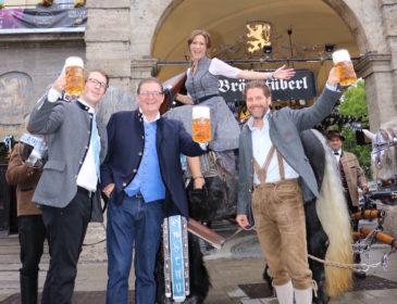 """Das """"Wiesnzelt"""" am Stiglmaierplatz: Die größte Party Münchens während der Wiesn"""