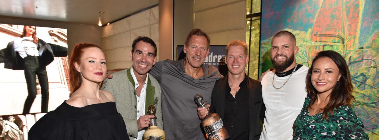 """Tequila, Masterclass and Fun"": Schwarzenegger-Neffe Patrick Knapp-Schwarzenegger und Wasenwirt Michael Wilhelmer luden ein"