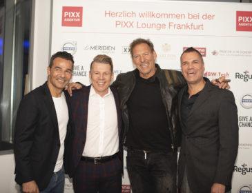 PIXX Lounge in den Sky Lounge Studios von Antenne Frankfurt