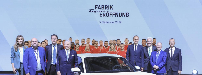 Porsche Taycan: Ein neues Kapitel in der Unternehmensgeschichte