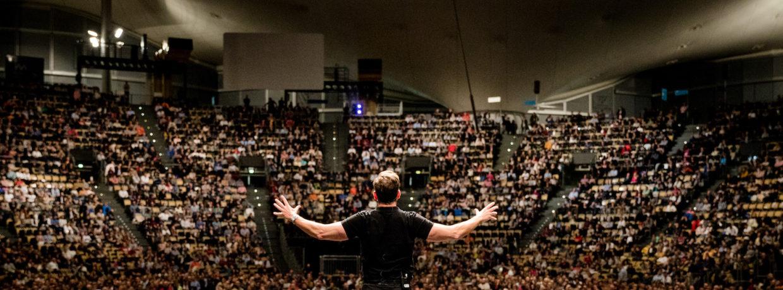 Dieter Bohlen rockt Jürgen Höllers Power Weekend in der Münchner Olympiahalle