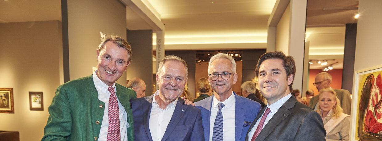 Großartige Eröffnung der 10. HIGHLIGHTS Internationale Kunstmesse München 2019
