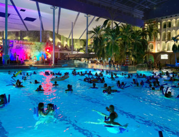 Karibische Nacht & Light Night in der Therme Erding