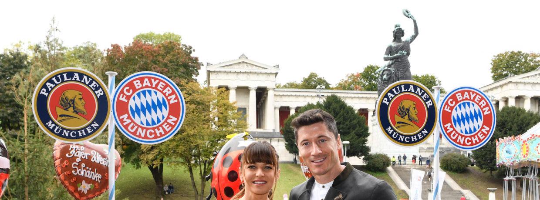 Wiesnbesuch des FC Bayern München 2019